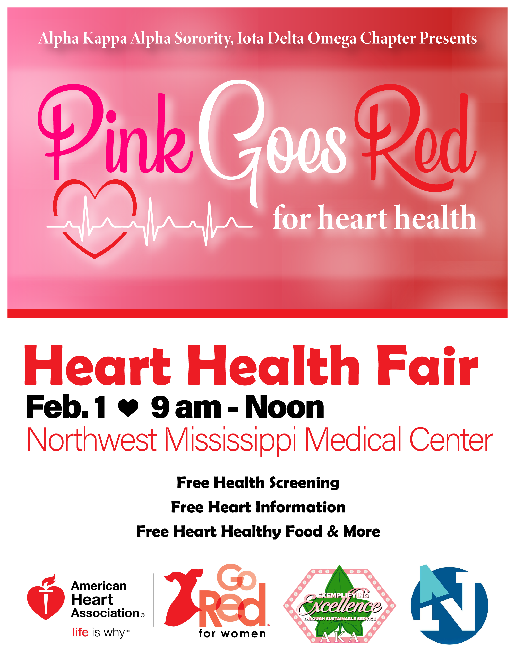 Community Health Event Flyer