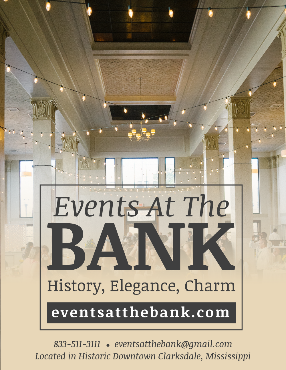 Event Space Newspaper Ad